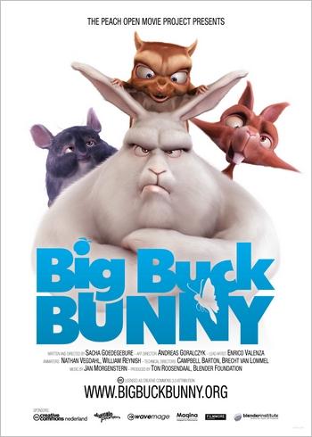 Big buck bunny poster big