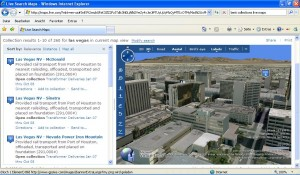 Photosynth in Live Maps