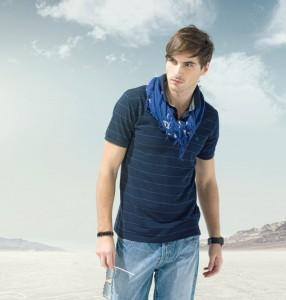 Modebewusste Männer