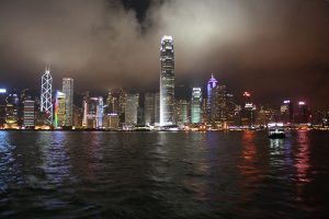 Skyline Hongkong Night