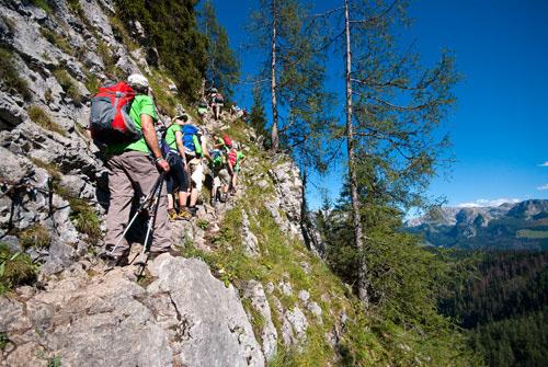 24 Stunden Wanderung Alpin